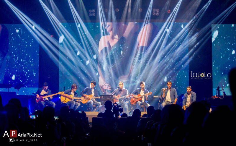 اولین کنسرت سیامک عباسی