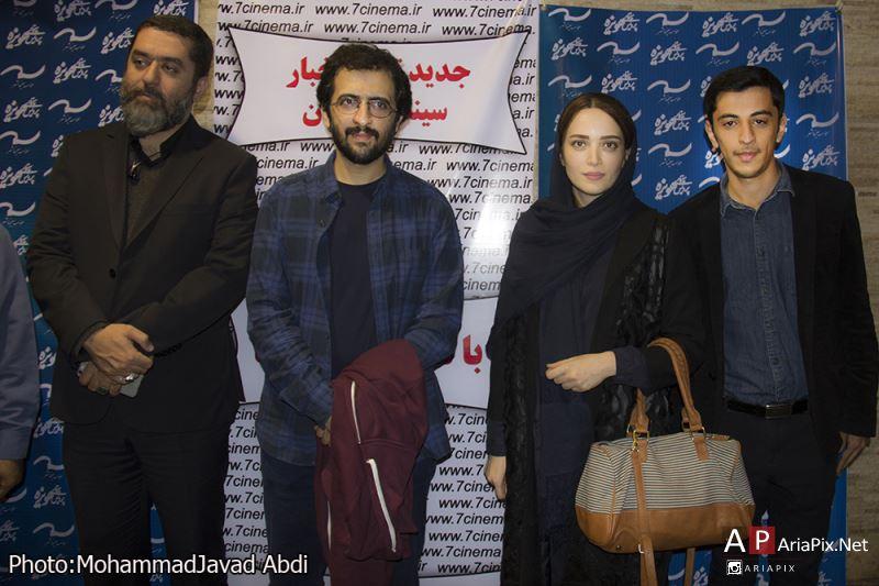 اکران مردمی فیلم سیانور در مشهد