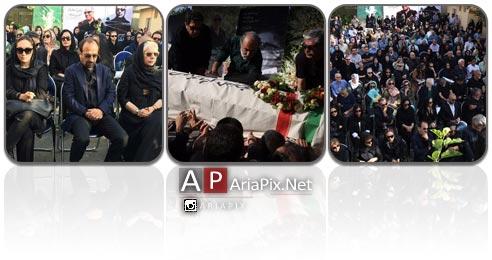 مراسم تشییع عباس کیارستمی, تشییع جنازه عباس کیارستمی