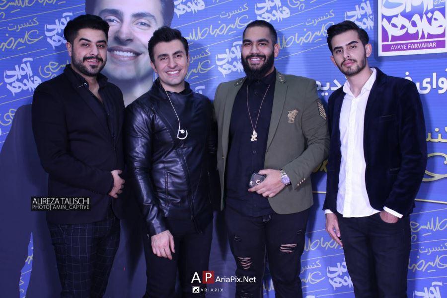 عکسهای اولین کنسرت علیرضا طلیسچی