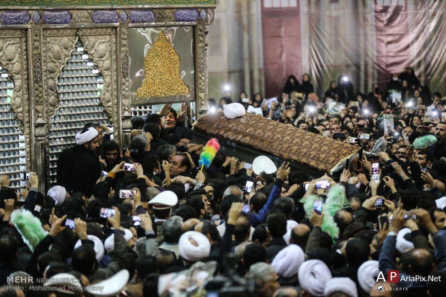 مراسم تشییع جنازه و خاکسپاری هاشمی رفسنجانی