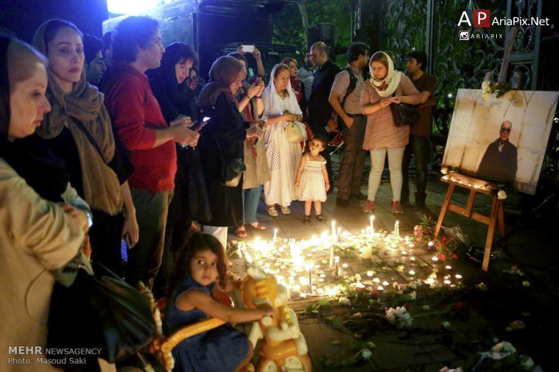 مراسم یادبود عباس کیارستمی